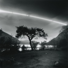 Moonset over Loch Etive