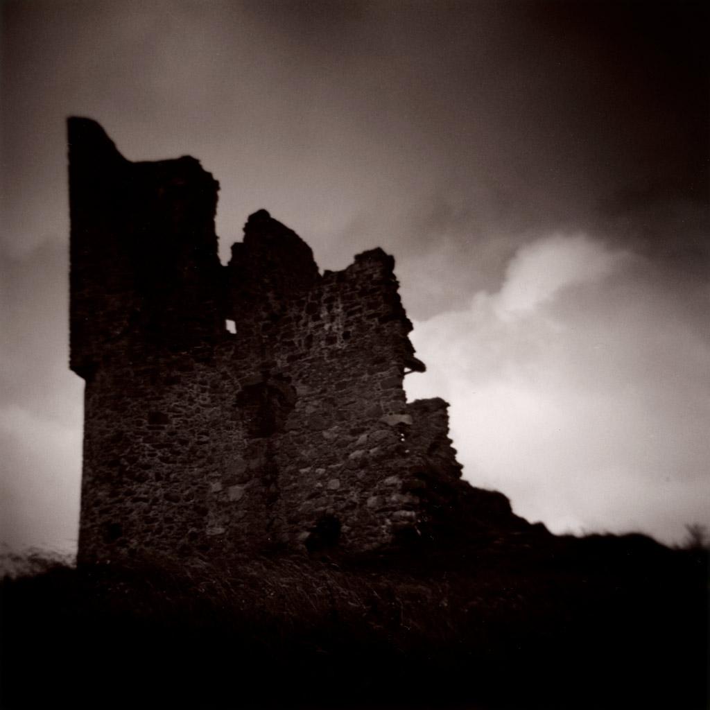 Ardvreck Castle, Assynt, Ilford HP5 Warmtone Paper